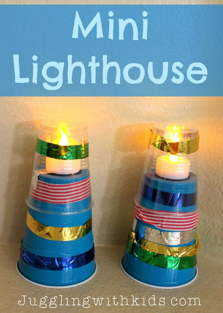 Lighthouse template craft 28 images lighthouse shapes practice lighthouse template craft mini lighthouse craft juggling with pronofoot35fo Images